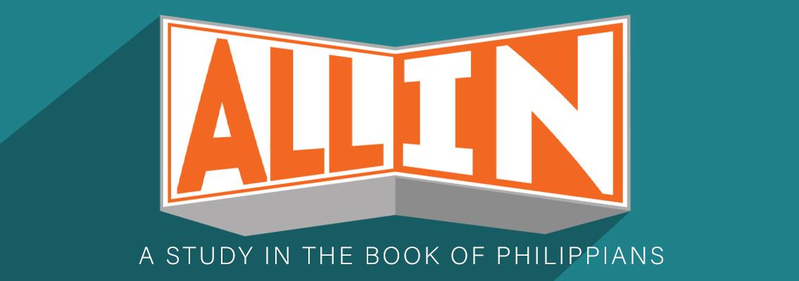 New Sermon Series: All In